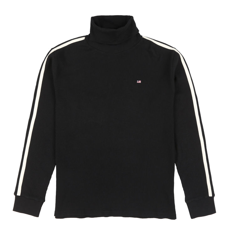 POLO JEANS GARRONS TURTLENECK // BLACK