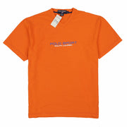 POLO SPORT HILTON H V NECK TEE // ORANGE