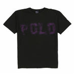 POLO SPELL OUT SP TEE // BLACK