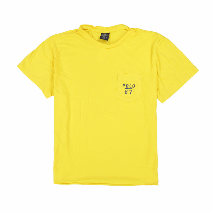 POLO 67 POCKET TEE // YELLOW