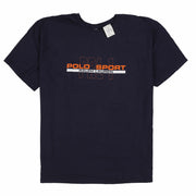 POLO SPORT RRL1 SPELL OUT TEE // NAVY