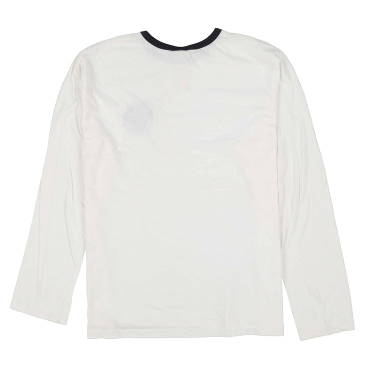 POLO CORP COOKIE RINGER TEE // WHITE