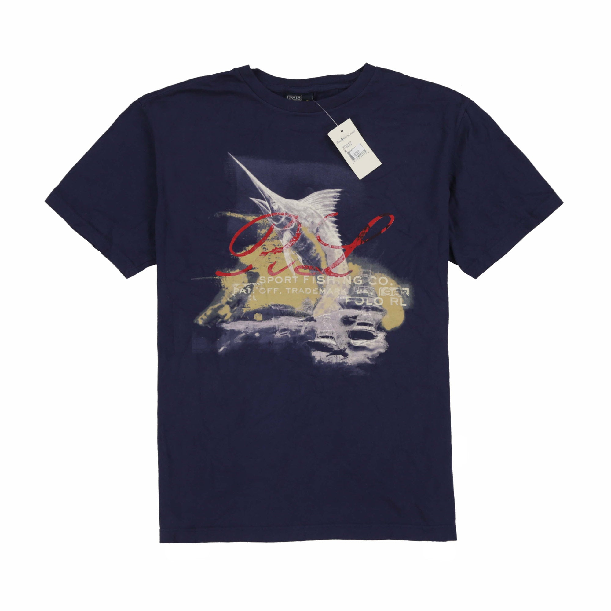 POLO SWORDFISH TEE // NAVY