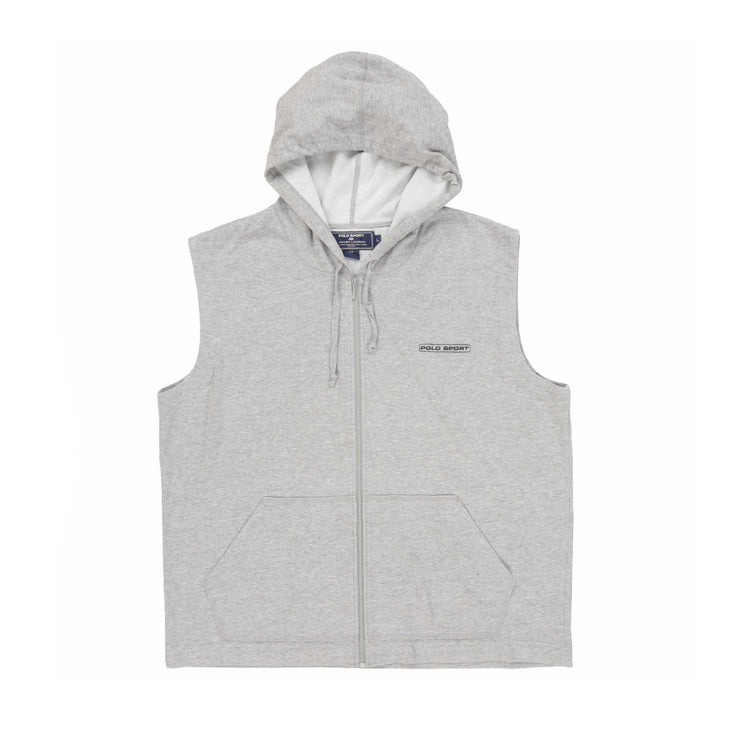 POLO SPORT OUTPOST SP SS HOODY // GREY