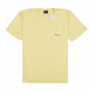 POLO IT POCKET TEE // YELLOW