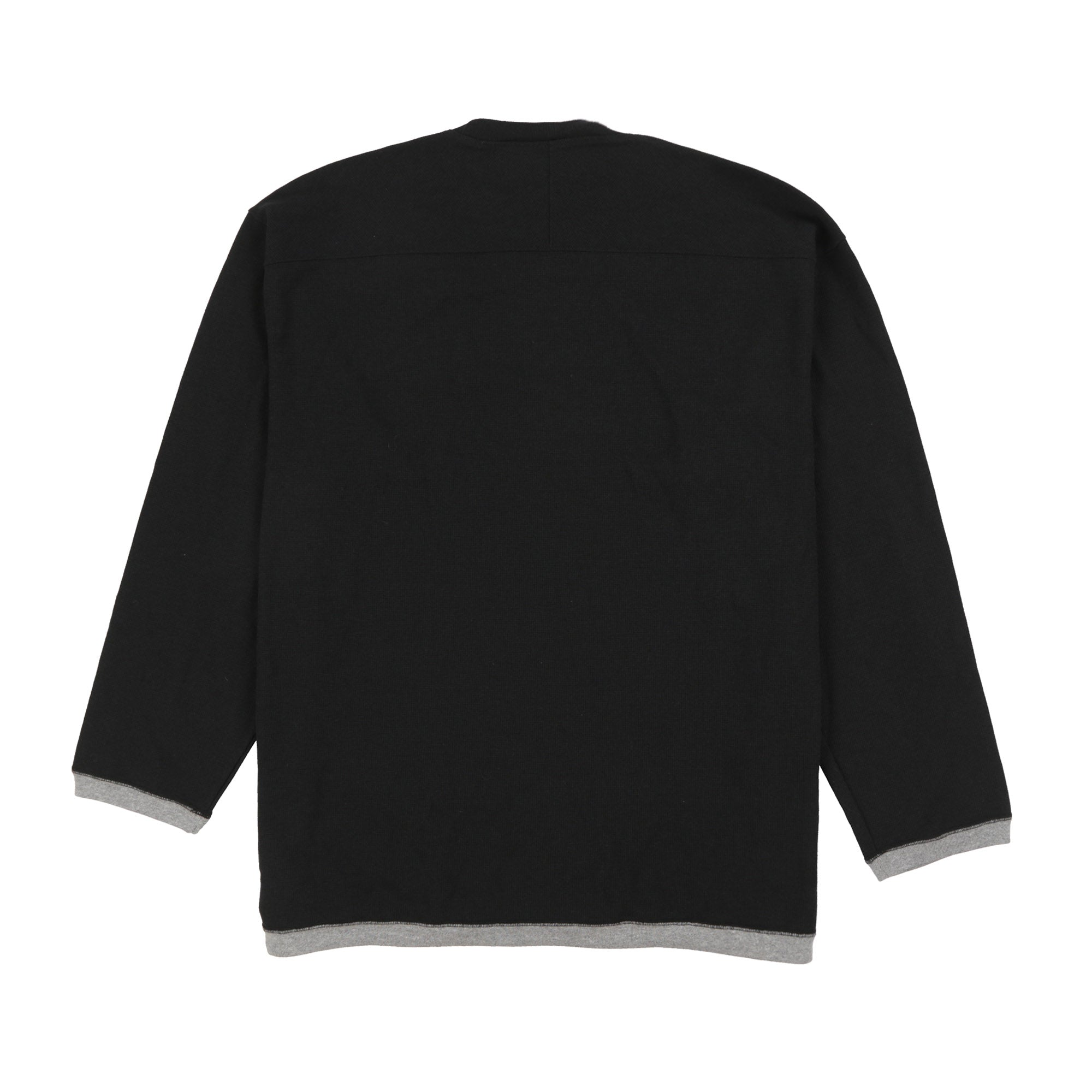 POLO SPORT SPELL OUT CREWNECK MADE CANADA // BLACK