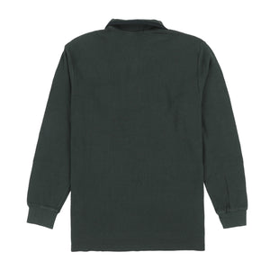 POLO SPORT EMB SPELL OUT SS POCKET POLO // FOREST GREEN