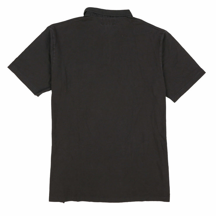 POLO SPORT EMB SPELL OUT SS POCKET POLO // BLACK