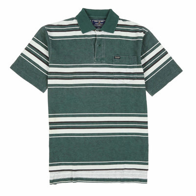 POLO SPORT SPORT1 POCKET SS POLO // GREEN WHITE