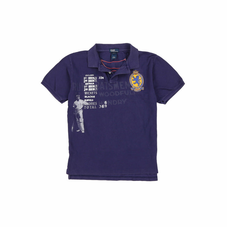 POLO KIDS SS POLO // BLUEPRINT