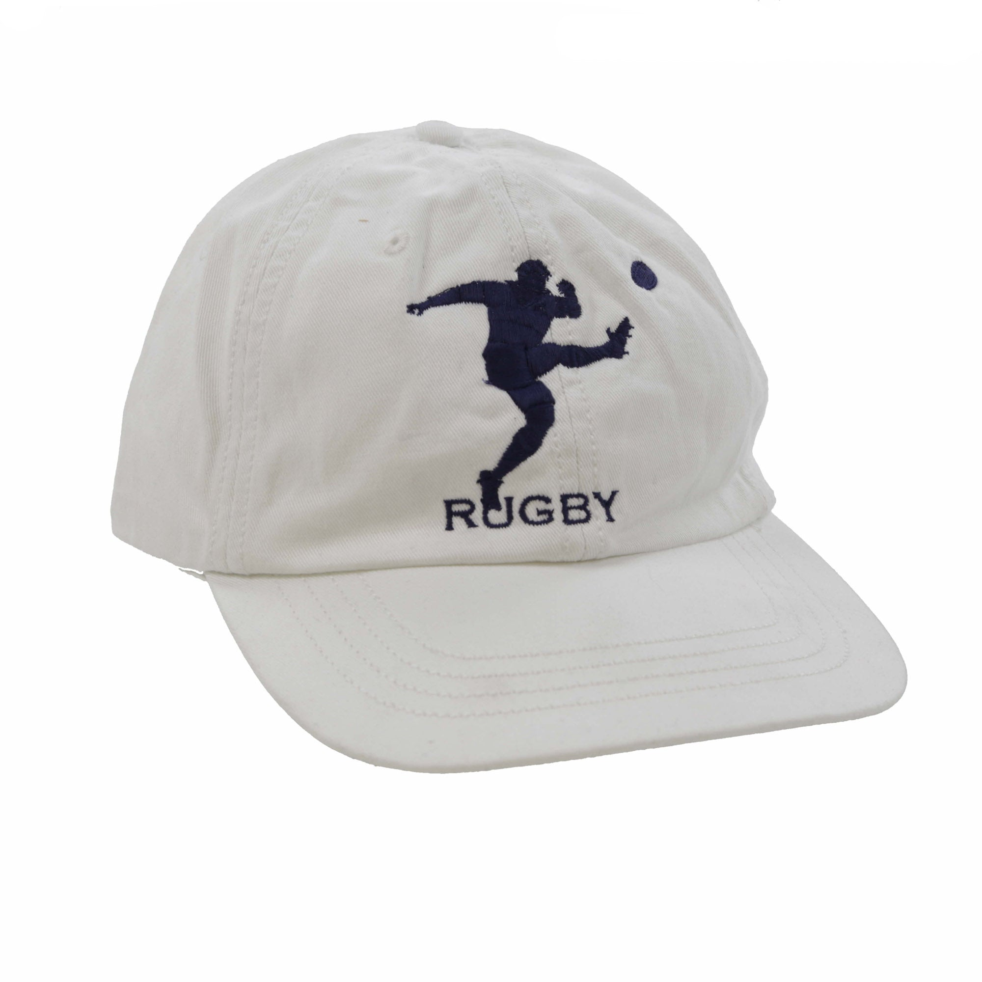 RUGBY MAN CAP // WHITE NAVY