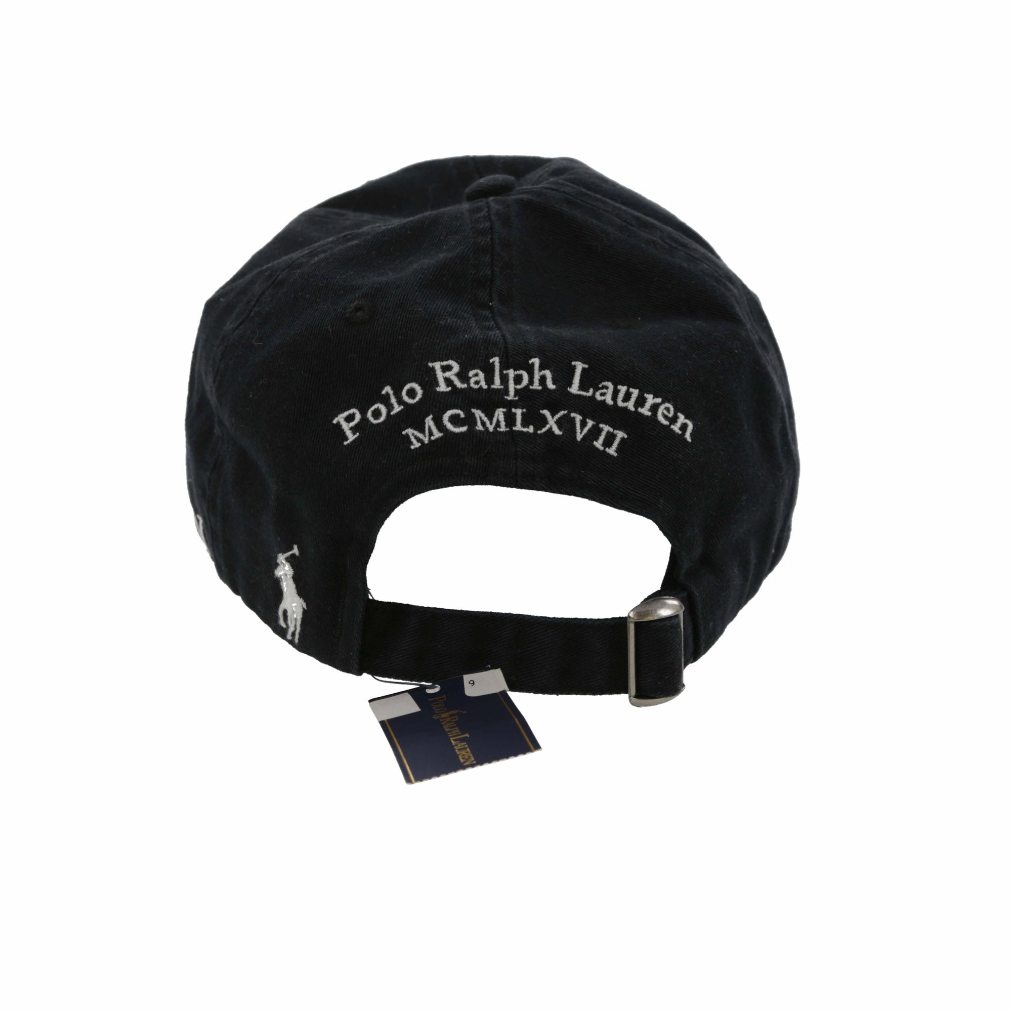 POLO JAPAN FLAG CAP // BLACK