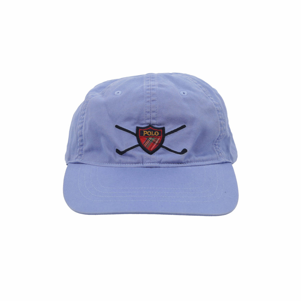 POLO GOLF SHIELD CAP // BLUE