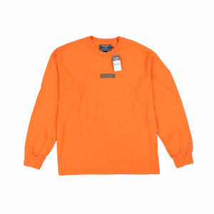 POLO SPORT INDUSTRIAL LONGSLEEVE TEE // ORANGE