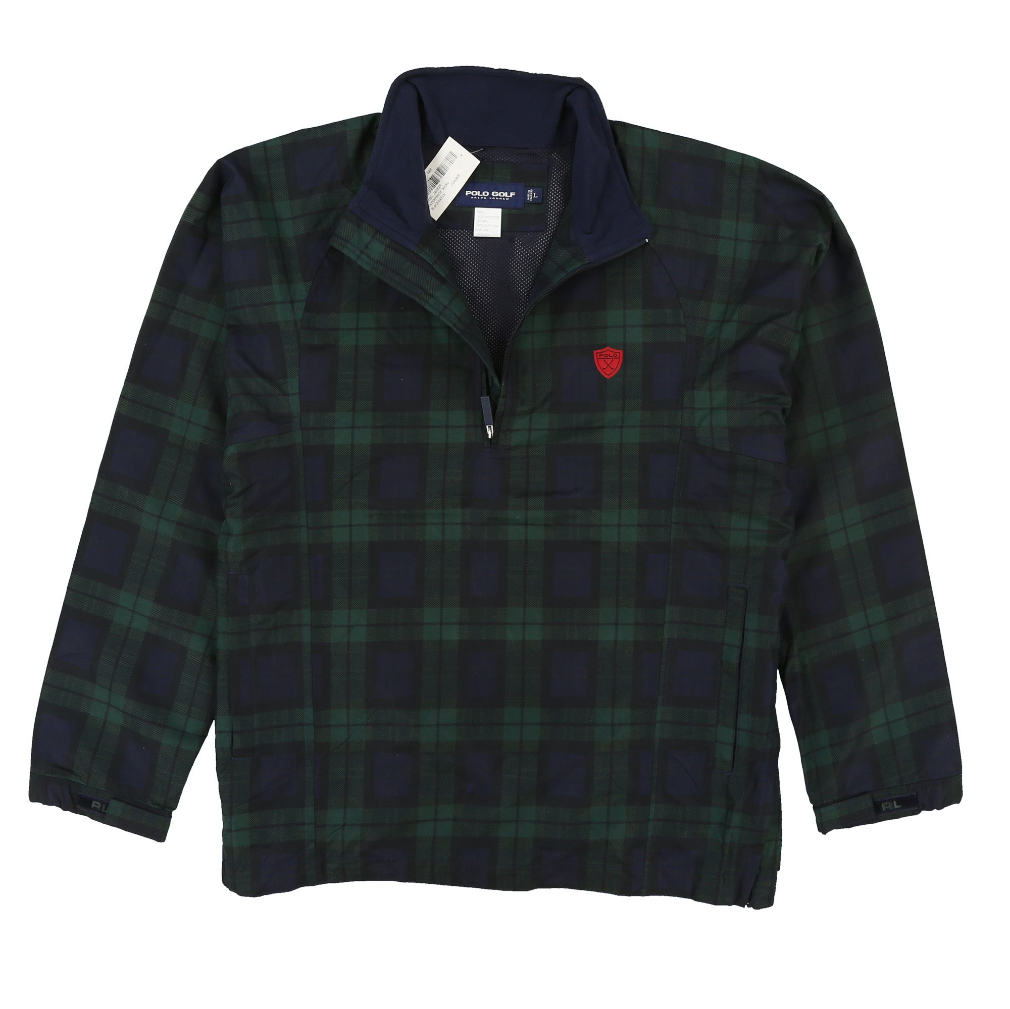 POLO GOLF DANIEL JACKET // BLACKWATCH PLAID