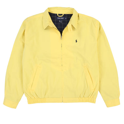POLO GOLF PONY JACKET // YELLOW