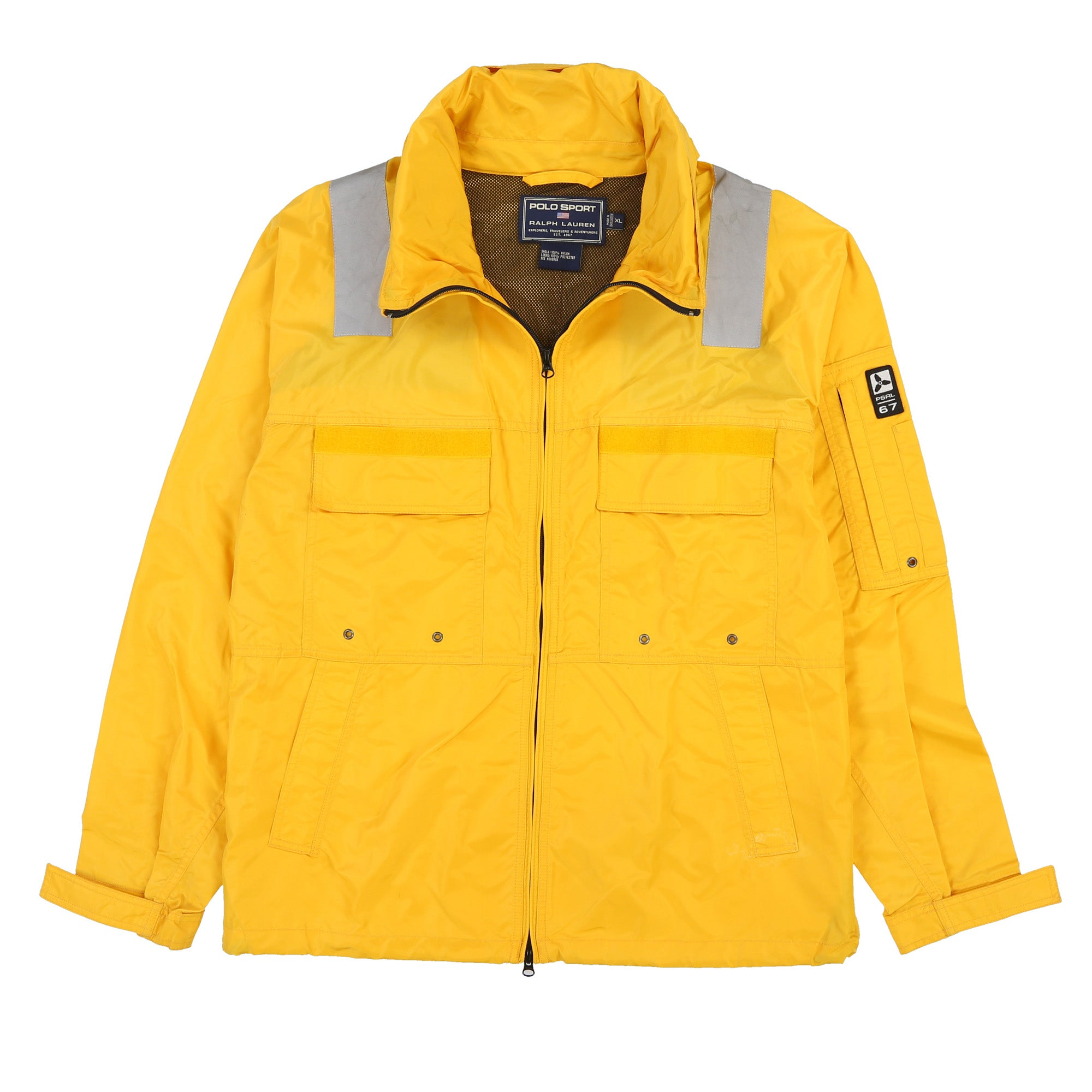 POLO SPORT PROPELLER JACKET // YELLOW
