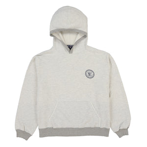 POLO SPORT P SHIELD HOODY // HEATHER GREY