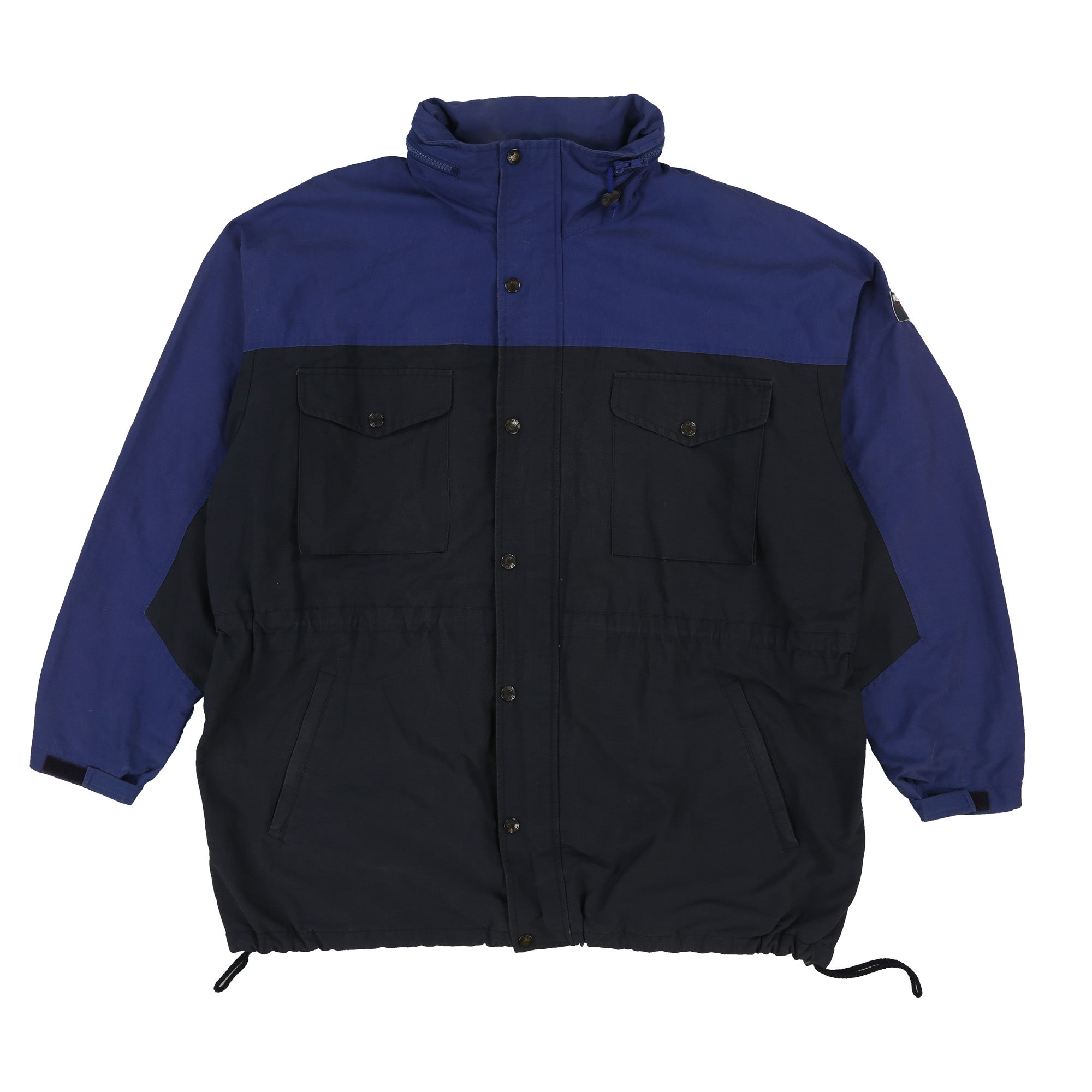POLO SPORT PATCH PARKA JACKET // NAVY BLUE