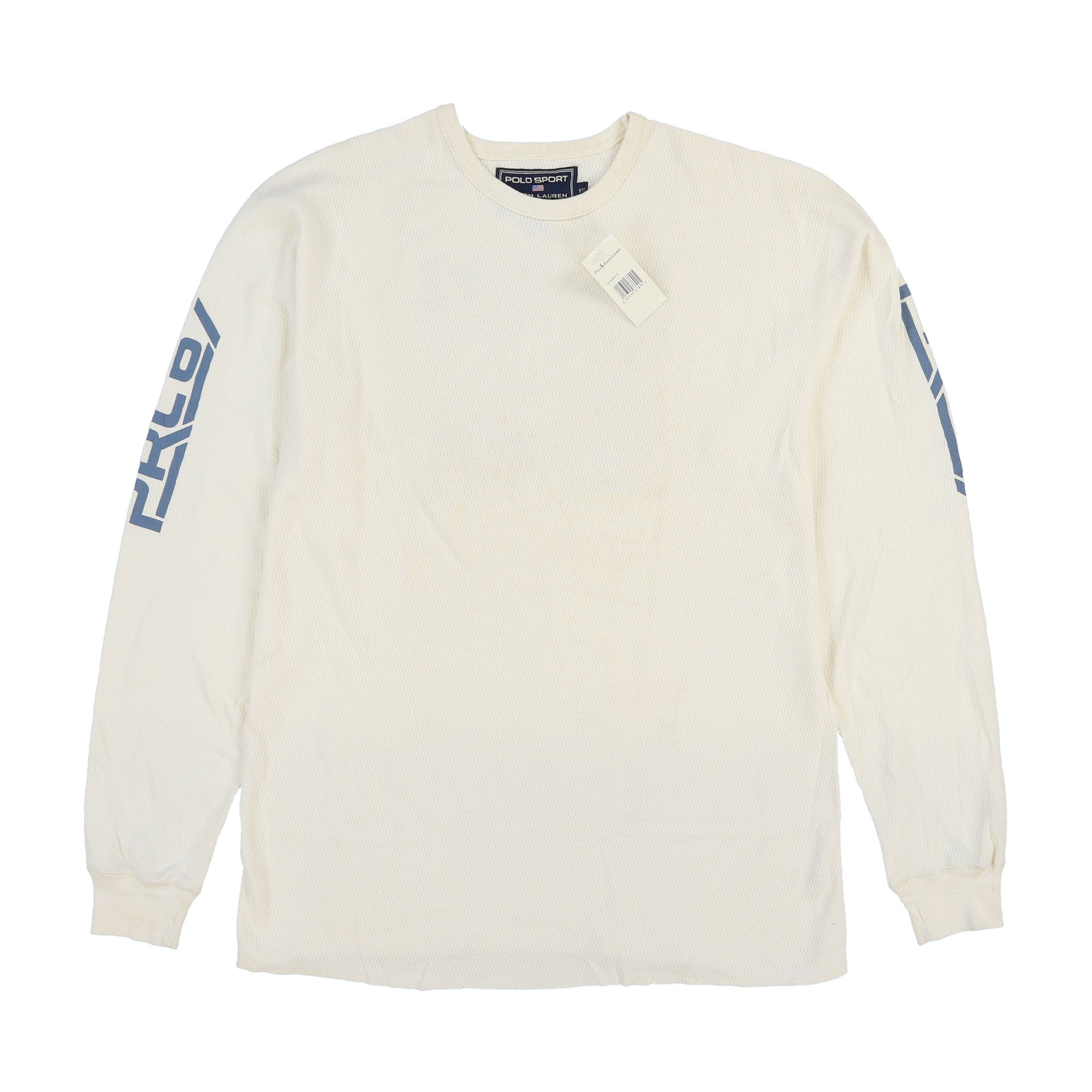 POLO SPORT SUPERCROSS PRO 2000 THERMAL LS TEE // NATURAL