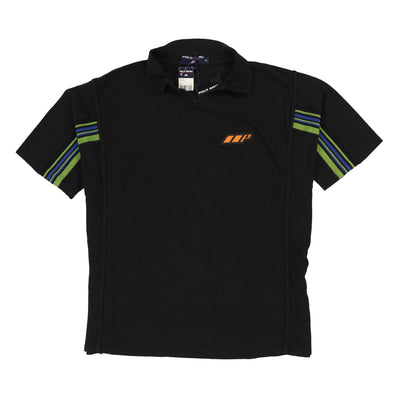 POLO SPORT 7B PATCH POLO // BLACK