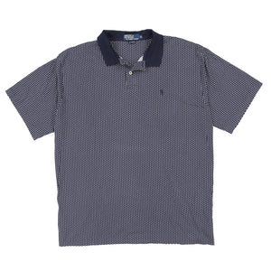 POLO POLKA DOT SS POLO // NAVY