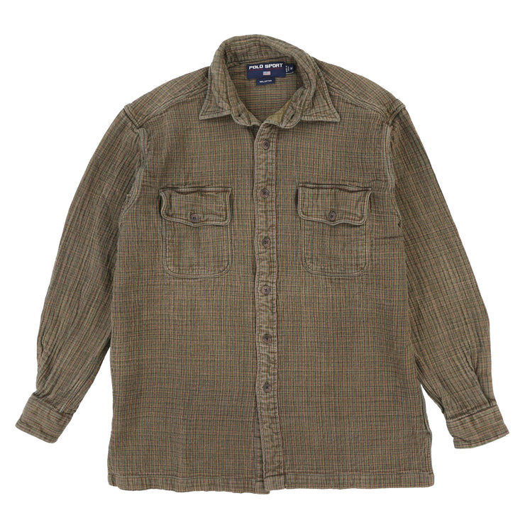 POLO SPORT PLAID LS OVERSHIRT // MULTI
