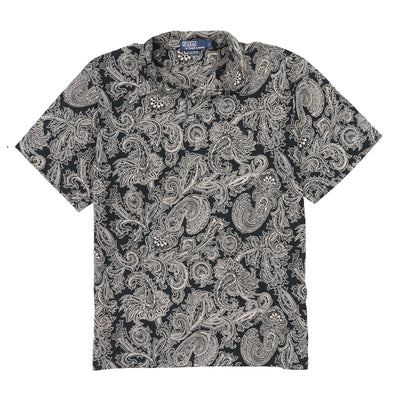 POLO PAISLEY SS POLO // NAVY