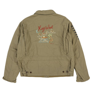 POLO KEYWEST JACKET // ARMY