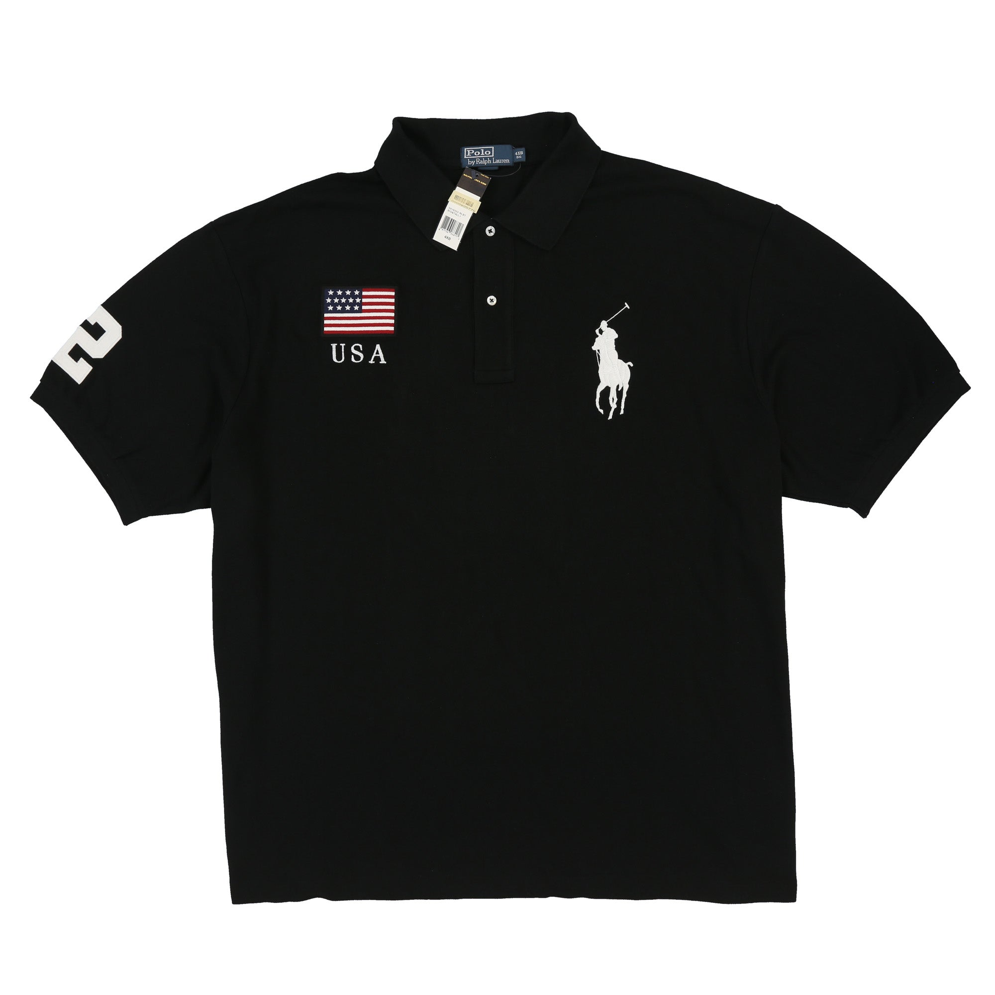 POLO BLACKWATCH SS POLO // BLACK
