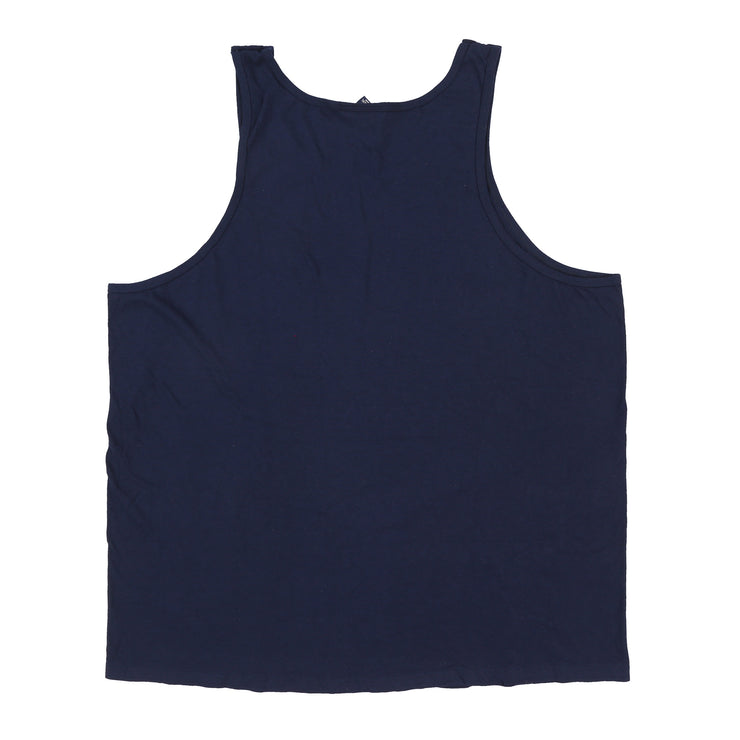 POLO SPORT SIDE SPELL OUT TANK TOP // NAVY