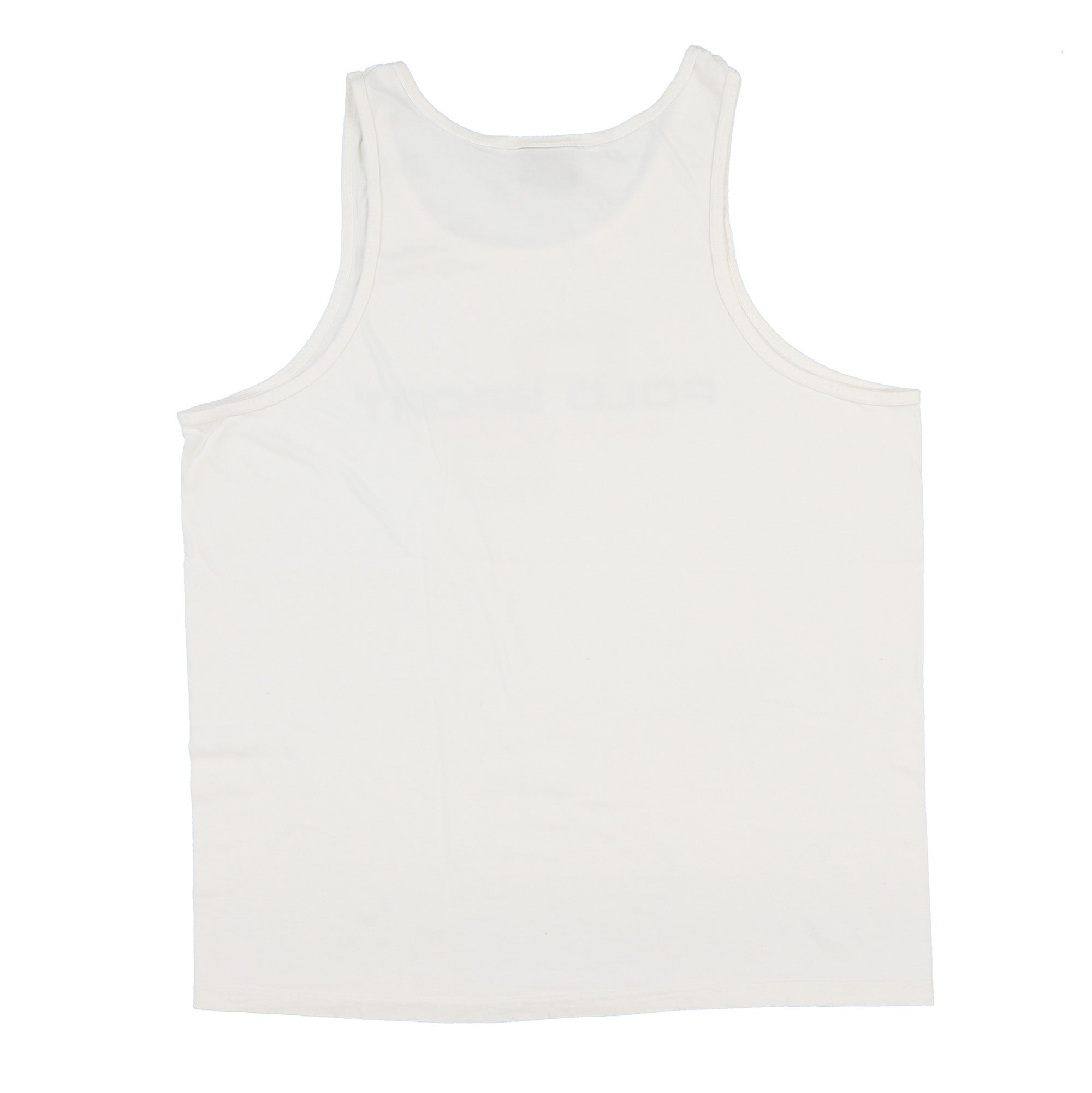 POLO SPORT PSRL SPELL OUT TANK TOP // WHITE