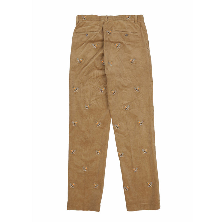 POLO GOLF CLUB CORDUROY PANT // BROWN