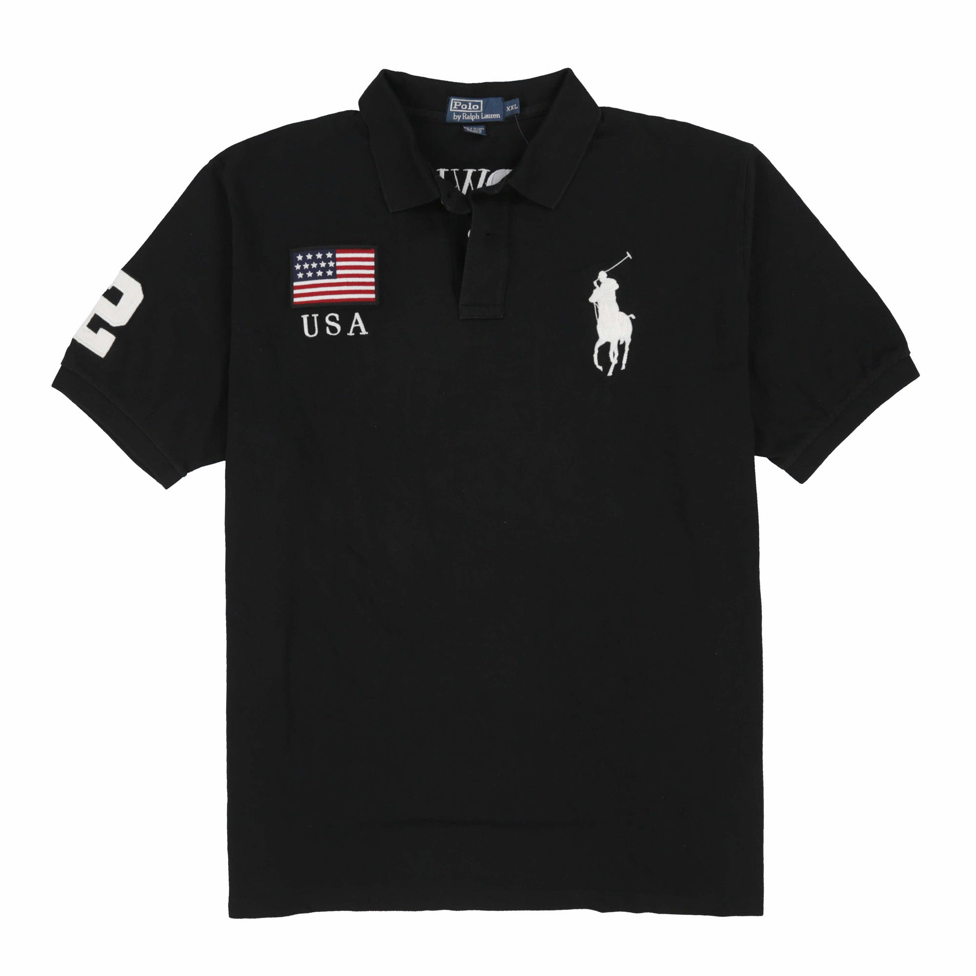 POLO USA SWJ SS POLO // BLACK