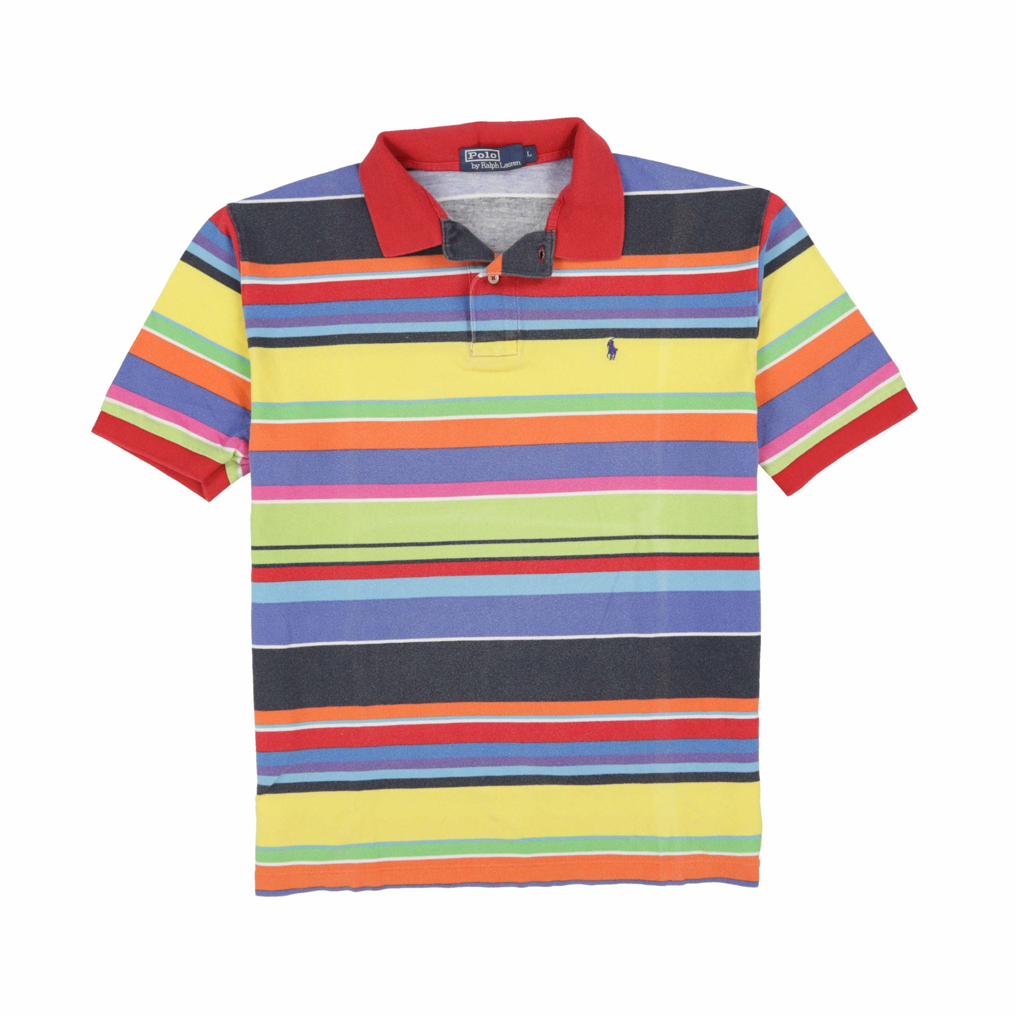 POLO STRIPE SS POLO // MULTI