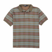 POLO PLAID SS POLO // MULTI