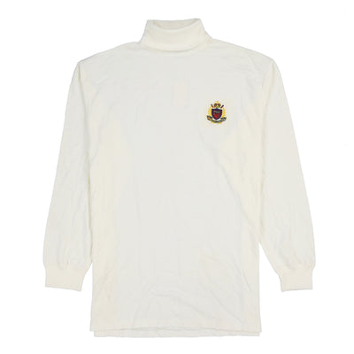 POLO TOUR CREST TURTLENECK // WHITE