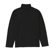 POLO SPORT SOLID TURTLENECK // BLACK