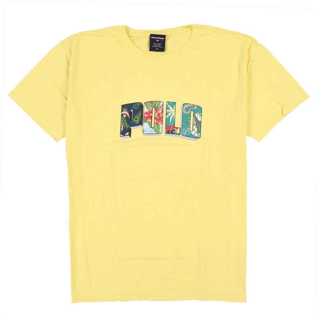POLO FLORAL CLASSICS TEE // YELLOWMOON