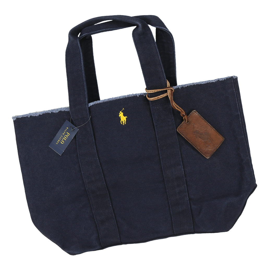 POLO TOTE BAG // DENIM