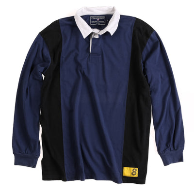 POLO 888 MADISON AVE LS POLO // NAVY BLACK