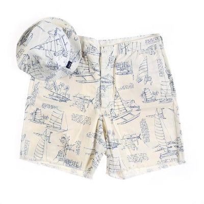 POLO KATAMARAN SHORT BUCKET HAT SET