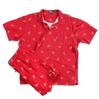 POLO LOBSTER POLO SWIMTRUNK SET