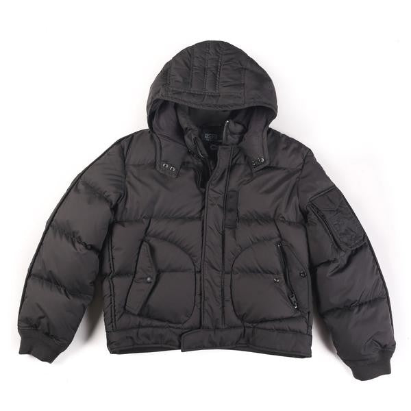 POLO NYC SPECIAL ISSUE 1ST DIV HOODED DOWN JACKET // BLACK