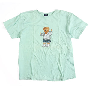POLO SPORT BEAR TEE // LIGHT GREEN