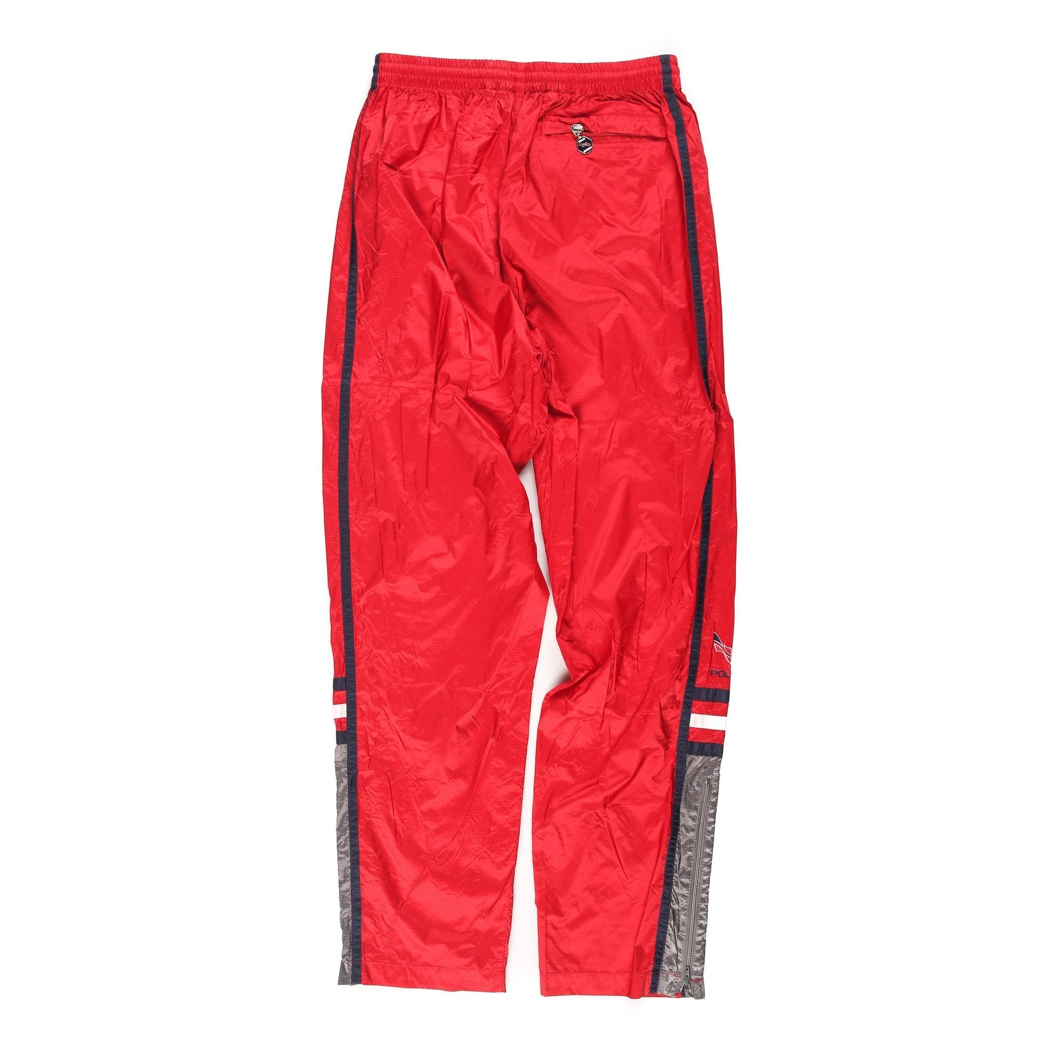 POLO SPORT BLOCK 98 TRACKPANT // RED