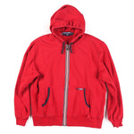 POLO SPORT BLOCK 98 ZIP HOODIE // RED