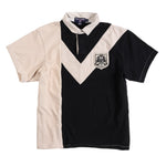 POLO SPORT LION PATCH TONAL POLO // BLACK CREAM