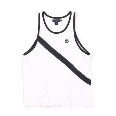 POLO SPORT OLYMPIC H 1992 SHIELD TANKTOP // WHITE