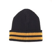 POLO SPORT P BEANIE // BLACK YELLOW